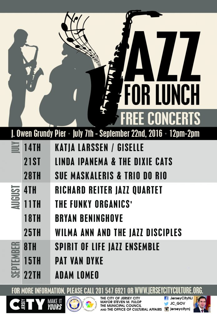 Jazz For Lunch 2016