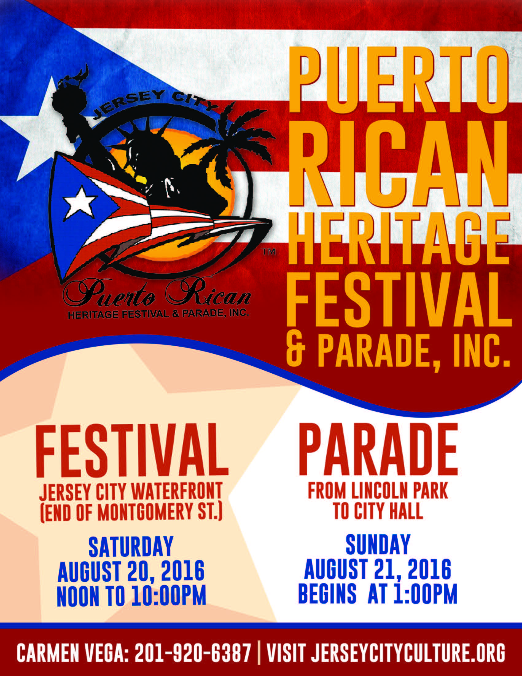 Jersey city puerto rican heritage festival parade the for 10 exchange place 25th floor jersey city nj 07302