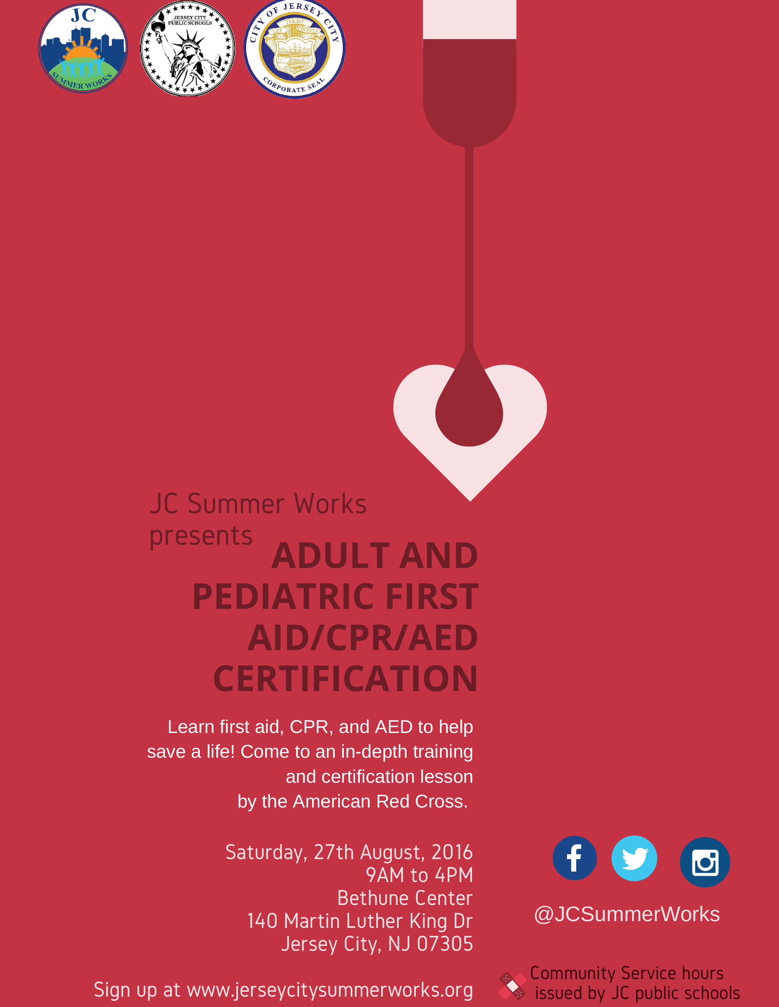 Jc Summer Works Presents Adult And Pediatric First Aidcpraed