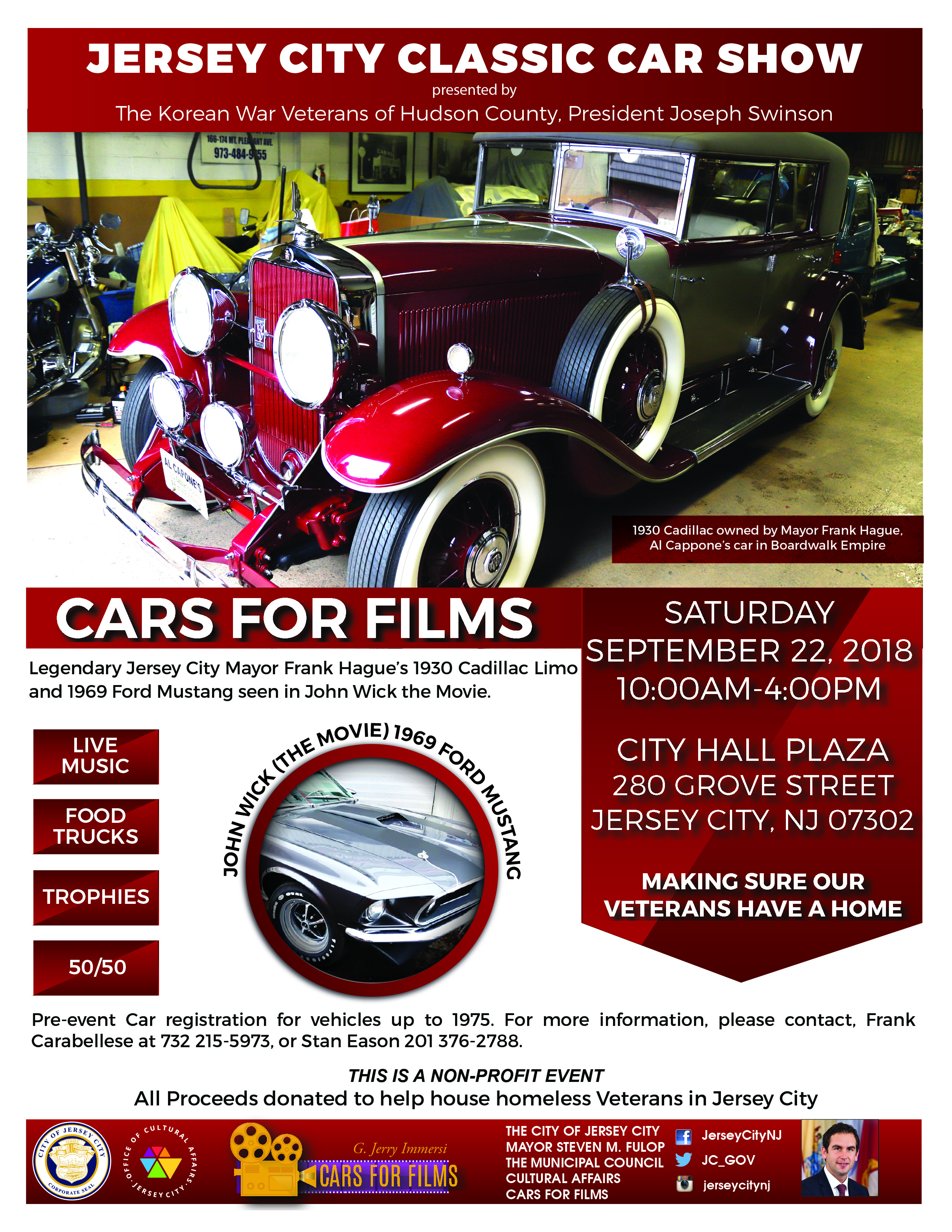 Jersey City Classic Car Show The Office Of Cultural Affairs - Antique car show near me today